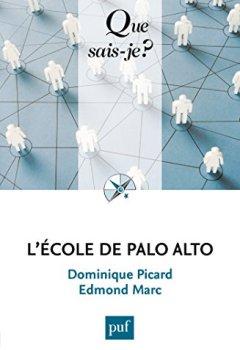 Livres Couvertures de L'École de Palo Alto: « Que sais-je ? » n° 3954