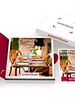 Livres Couvertures de SMARTBOX - Coffret Cadeau - Bistrots et Délices - 230 Repas : Bistrots, Brasseries et Bonnes Tables