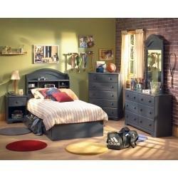 Image of Kids Bedroom Furniture Set in Blueberry - South Shore Furniture - 3294-BSET (3294-BSET)