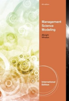Livres Couvertures de Management Science Modeling