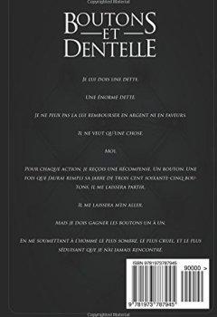 Livres Couvertures de Boutons et Dentelle