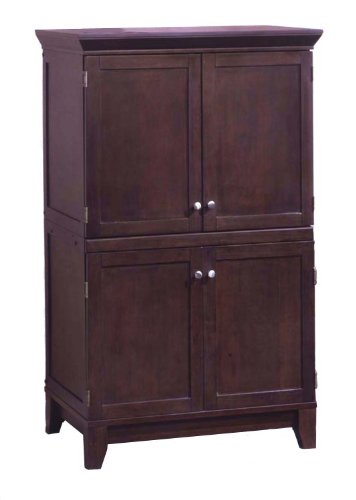 Picture of Comfortable Computer Armoire FJA122 (B003OEZ4SW) (Computer Armoires)