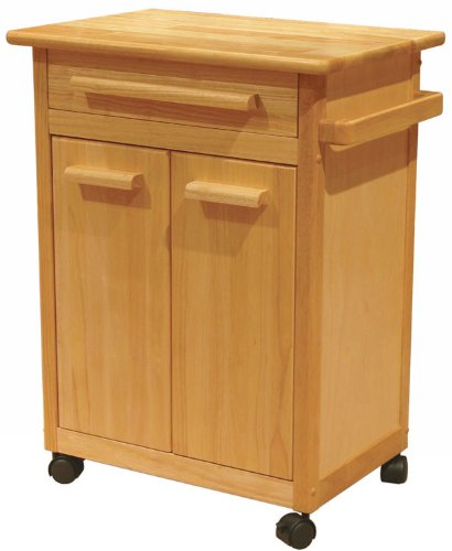 Image of Kitchen Cart with One Drawer, cabinet (w82027qq)