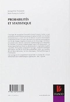 Livres Couvertures de Probabilités et statistique
