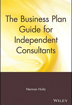 Livres Couvertures de [(The Business Plan Guide for Independent Consultants)] [By (author) Herman R. Holtz] published on (November, 1994)