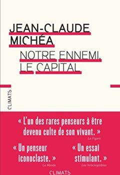 Livres Couvertures de Notre ennemi, le capital