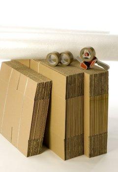 Livres Couvertures de Kit cartons déménagement T3-T4 avec 3 rouleaux d'adhésif gratuits