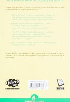 Portada del libro deEl Marketing Del Permiso: 1 (Gestion Del Conocimiento)