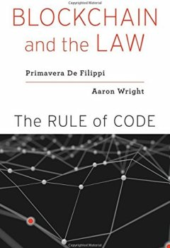 Livres Couvertures de Blockchain and the Law: The Rule of Code