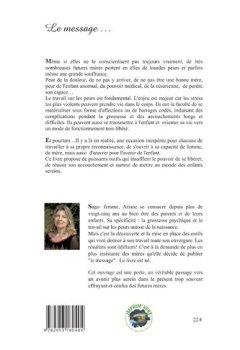 Livres Couvertures de Message d'une sage-femme pour une naissance libre - Les peurs de la grossesse et de l'accouchement