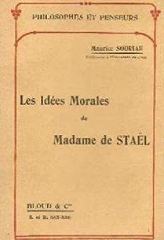 Livres Couvertures de Les idées morales de Madame de Staël