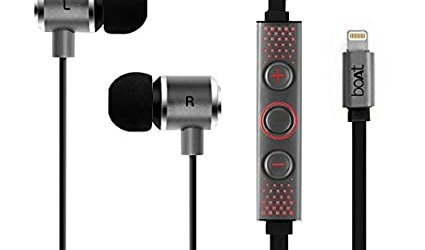 boAt DSP 4000 Apple Certified Lightning Earphone with Digital Audio