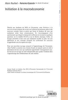 Livres Couvertures de Initiation a la Macroéconomie