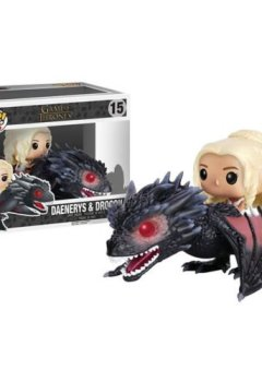 Livres Couvertures de Funko POP Rides Game of Thrones Dragon & Daenerys Vinyl Action Figure Toy New
