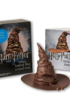 Livres Couvertures de Harry Potter Talking Sorting Hat and Sticker Book: Which House Are You?