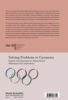 Livres Couvertures de Solving Problems in Geometry: Insights and Strategies