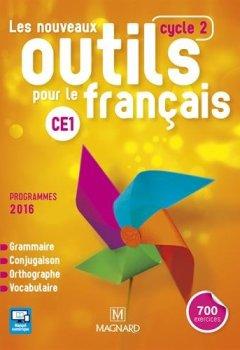 Livres Couvertures de Français CE1 cycle 2 Les nouveaux outils pour le français