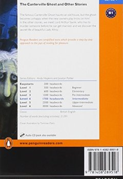 Livres Couvertures de Level 4: The Canterville Ghost and Other Stories Book and MP3 Pack