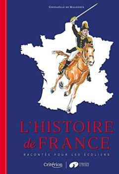 Livres Couvertures de L'histoire de France racontée pour les écoliers