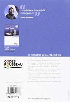 Livres Couvertures de Code Rousseau test option côtière 2016