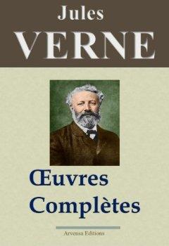 Livres Couvertures de Jules Verne : Oeuvres complètes entièrement illustrées (160 titres et 5400 gravures)