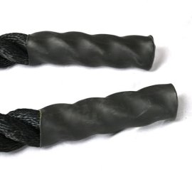 Battle-Rope-NEXPro-Polydac-Undulation-Rope-Exercise-Fitness-Training-15-width-Avail-in-30ft-40ft-50ft-Length-BLACK