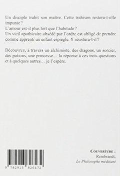 Livres Couvertures de Le Disciple - Trois contes alchimiques