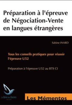 Livres Couvertures de Préparation à l'épreuve de négociation en langues étrangères : 6 dossiers complets d'exportation