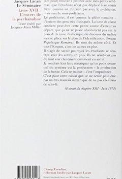 Livres Couvertures de Le Séminaire. L'Envers de la psychanalyse