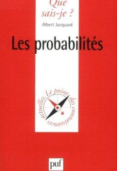Livres Couvertures de Les probabilités