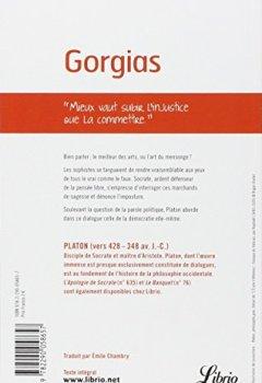 Livres Couvertures de Gorgias : De la rhétorique