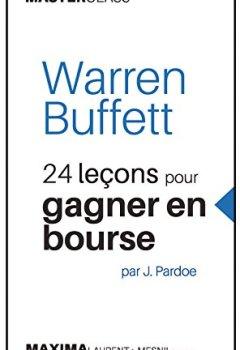Livres Couvertures de Warren Buffett - 24 leçons pour gagner en bourse