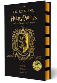 Buchdeckel von Harry Potter and the Philosopher's Stone. Hufflepuff Edition