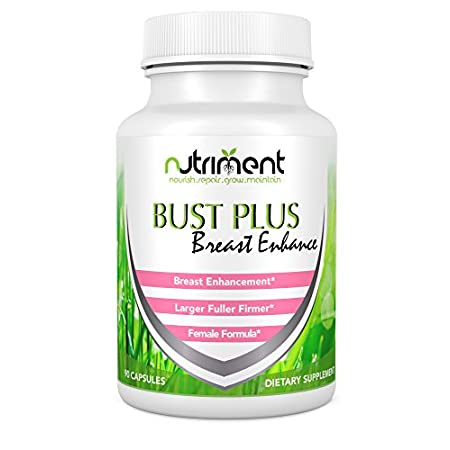 Bust Plus combines a synergistic blend of all-natural herbs that help to enhance breast size safely, naturally and without the side-effects and cost associated with cosmetic surgery. Increasing your breast size up to 1 cup size or more in as little a...