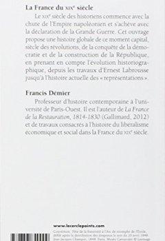 Livres Couvertures de La France du XIXe siècle : 1814-1914