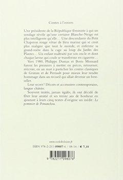 Livres Couvertures de Contes à l'envers