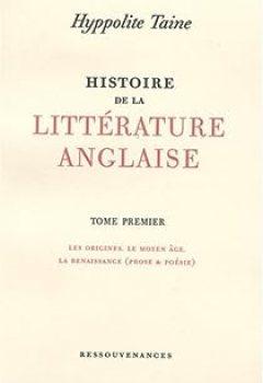 Livres Couvertures de Histoire de la littérature anglaise, tome premier