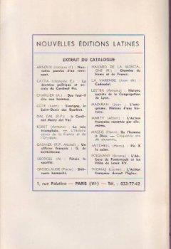 Livres Couvertures de Mes entretiens de prêtres avec Charles Maurras suivi de La vie intérieure de Charles Maurras