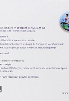 Livres Couvertures de Français Langue Étrangère Abc FLE les Bases du Français en 30 Leçons Niveau A1-A2 Avec Fichiers MP3 à Télécharger
