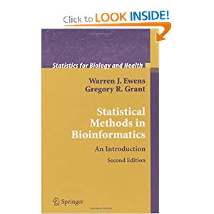Statistical Methods in Bioinformatics Textbook
