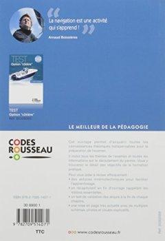 Livres Couvertures de Code Rousseau Code option côtière 2017