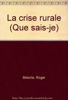 Livres Couvertures de La Crise Rurale