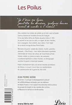 Livres Couvertures de Les Poilus, : Lettres et témoignages des Français dans la Grande Guerre (1914-1918)