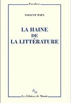 Livres Couvertures de La haine de la littérature
