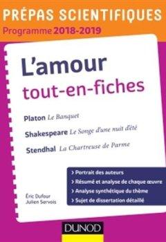 Livres Couvertures de L'amour Tout-en-fiches - Prépas scientifiques 2018-2019