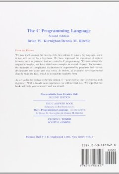 Livres Couvertures de The C Programming Language