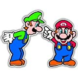 Super Mario Luigi Video Game Arcade Vynil Car Sticker Decal - Select Size