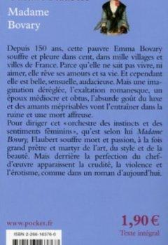 Livres Couvertures de Madame Bovary à 1,99 euros