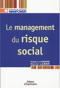 Livres Couvertures de Le management du risque social