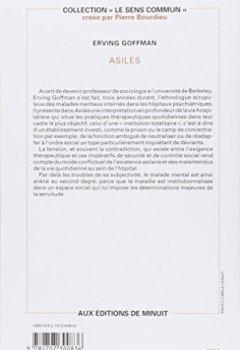 Livres Couvertures de ASILES. : Etude sur la condition sociale des malades mentaux et autres reclus